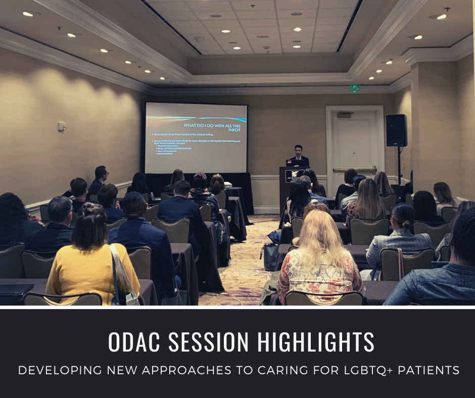 ODAC dermatology conference session image