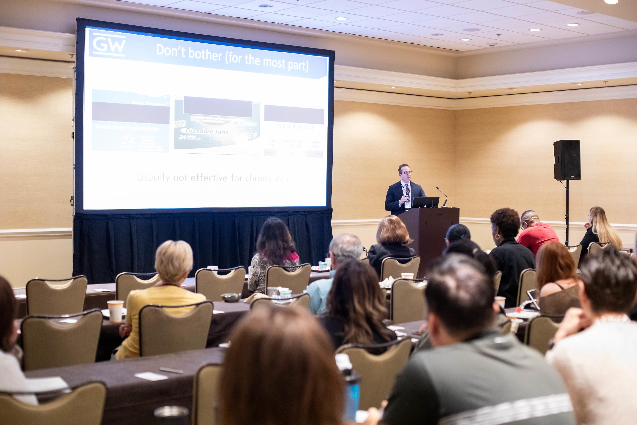 Adam Friedman, MD at ODAC Dermatology Conference