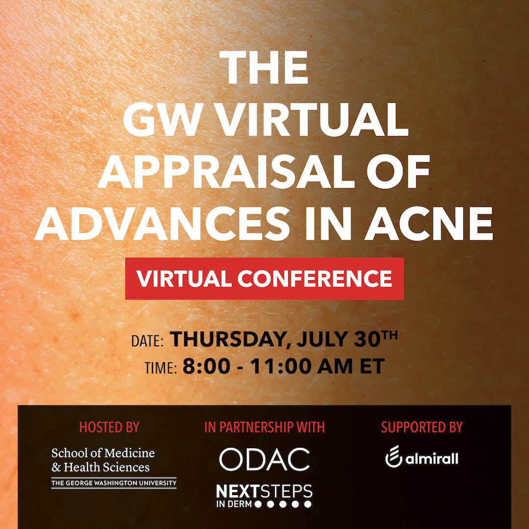 GW Virtual Appraisal of Advances in Acne